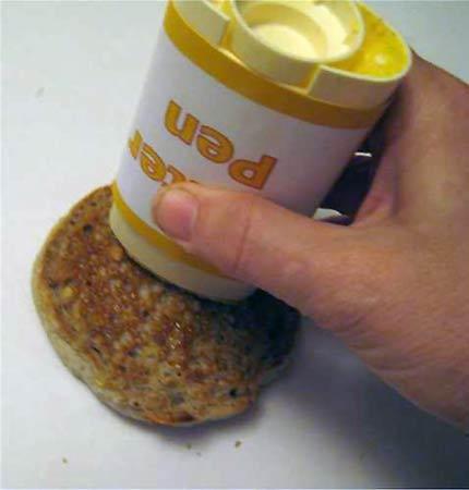 lapiz de margarina