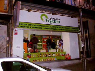 tienda planeta vegano
