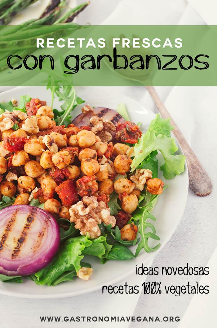 Recetas frescas con garbanzos - GastronomiaVegana.org