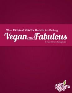 Vegan and fabulous