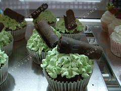 cupcakes de menta (veganitessen)
