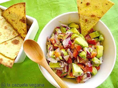 Guacamole - La Cazuela Vegana