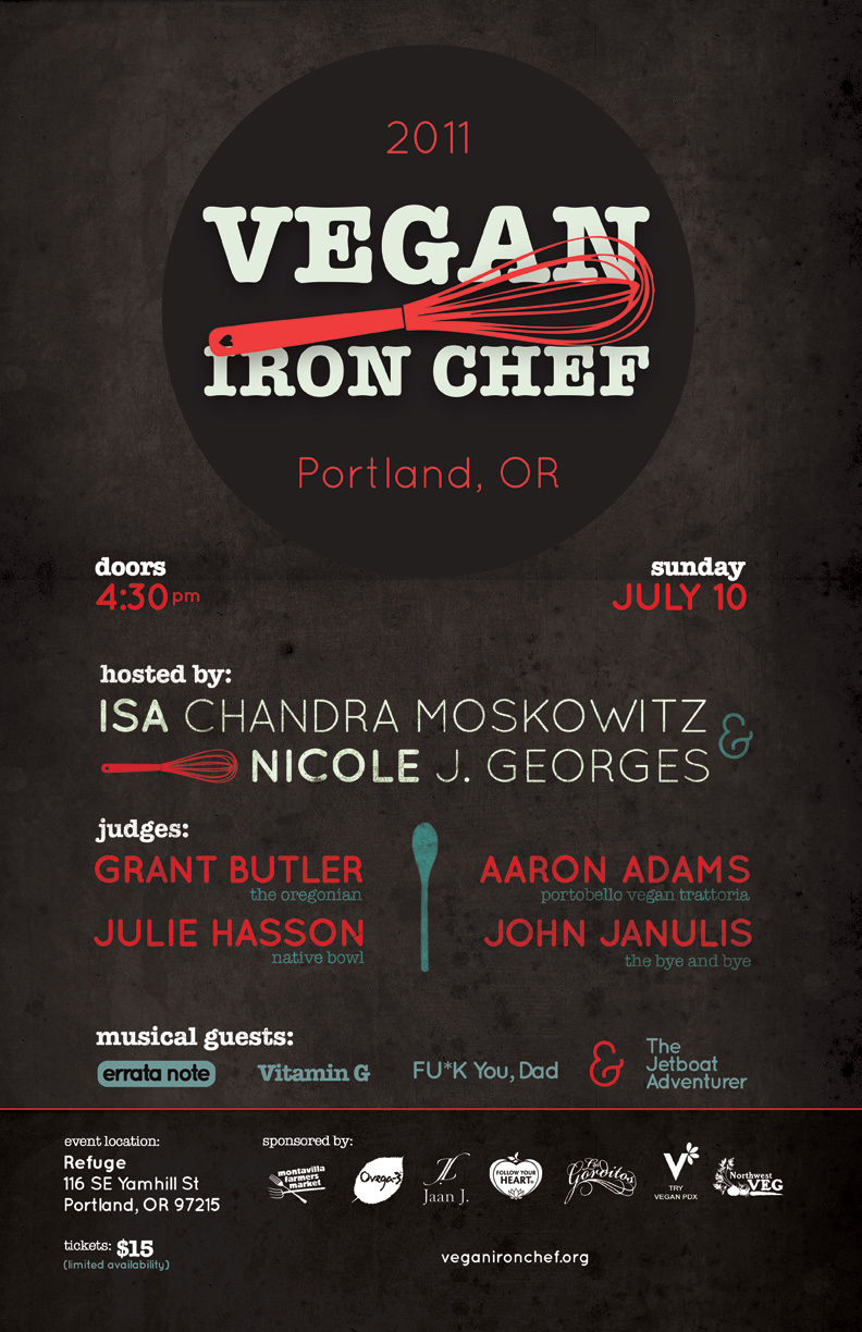 cartel vegan iron chef