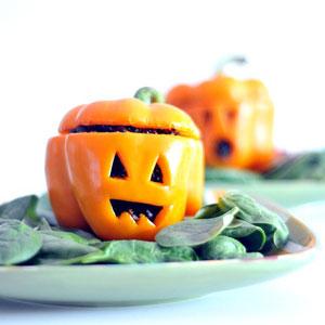 pimiento halloween