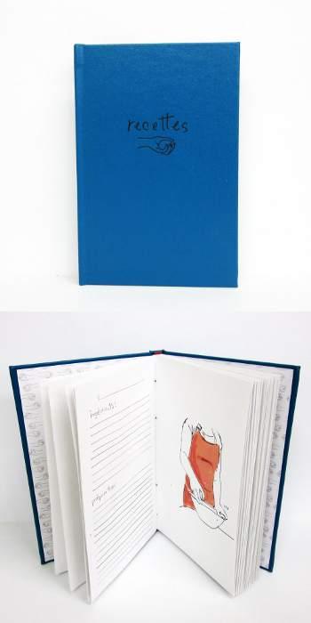 libro de recetas de Terrainvague en Etsy