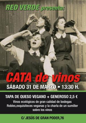 Cata de Vinos Ecológicos en Red Verde (Sevilla)