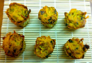 Muffins de falsa tortilla de patatas, de Veganos Almería
