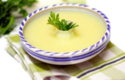 Vichyssoise (crema de puerro), de Hiulit's Cuisine
