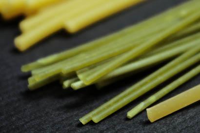 Spaghetti con espinacas