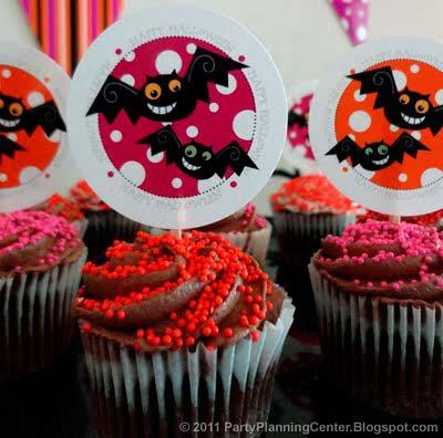 Cupcake toppers para descargar, imprimir y recortar