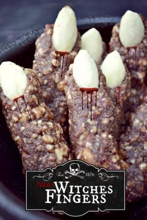 Dedos de bruja veganos | Fork and Beans
