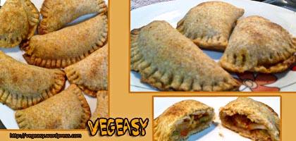 Empanadillas veganas de pisto y tempeh