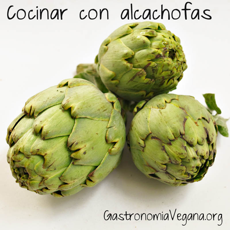 cocinar con alcachofas gastronom a vegana