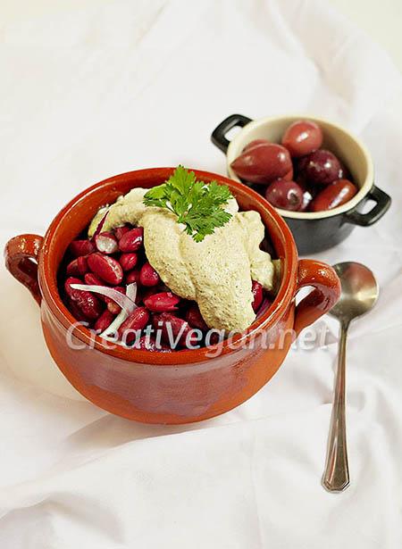 Kirkazhi (ensalada de judías rojas georgiana)