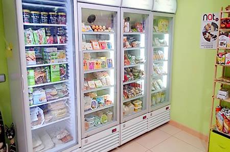 refrigerados y congelados en Territorio Vegano