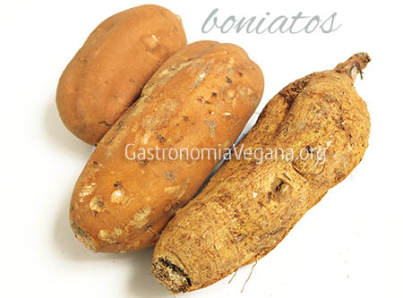 Boniatos o batatas