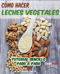 Tutorial: Cómo hacer leches vegetales. Virginia García. Ebook.