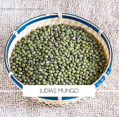 Judías Mungo (Vigna mungo) - Tipos de judías - Cocinar con legumbres - GastronomiaVegana.org