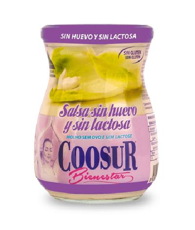 Salsa sin huevo y sin lactosa Coosur