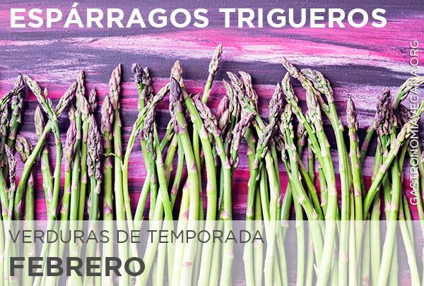 Verduras de temporada en febrero: espárragos trigueros