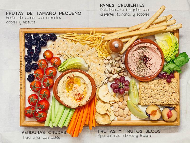 Cómo hacer tablas veganas impresionantes - GastronomiaVegana.org