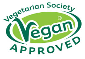 Sello Vegan Approved Vegetarian Society