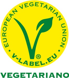 sello V-Label vegetariano