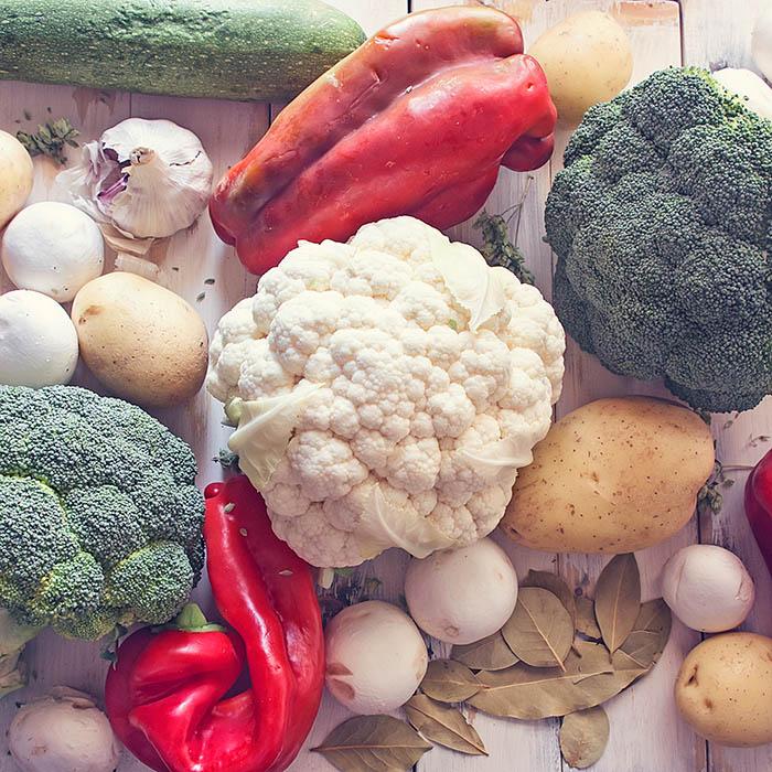 Verduras y hortalizas para sopas y caldos