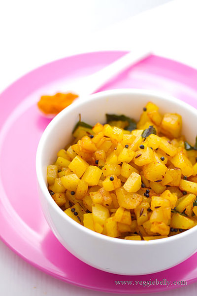 curry fácil de patata