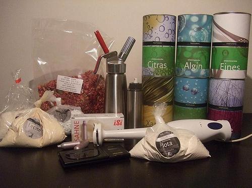kit cocina molecular