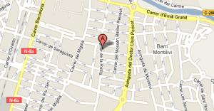 mapa b12 Girona