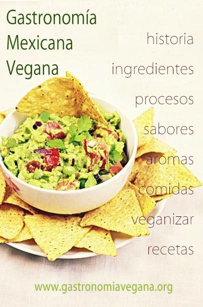 Gastronomía mexicana vegana: qué ingredientes se utilizan, sabores característicos, utensilios, procesos de cocción, recetas y mucho más :: GastronomiaVegana.org