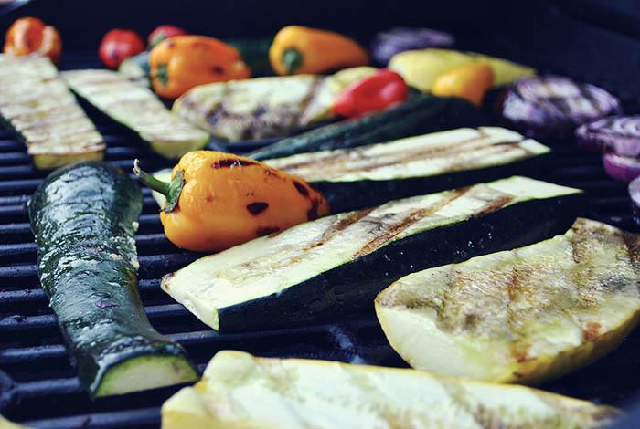 Verduras al grill