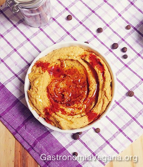 Hummus al curry - Hummus veraniegos