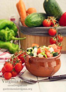 Pipirrana - recetas veganas veraniegas