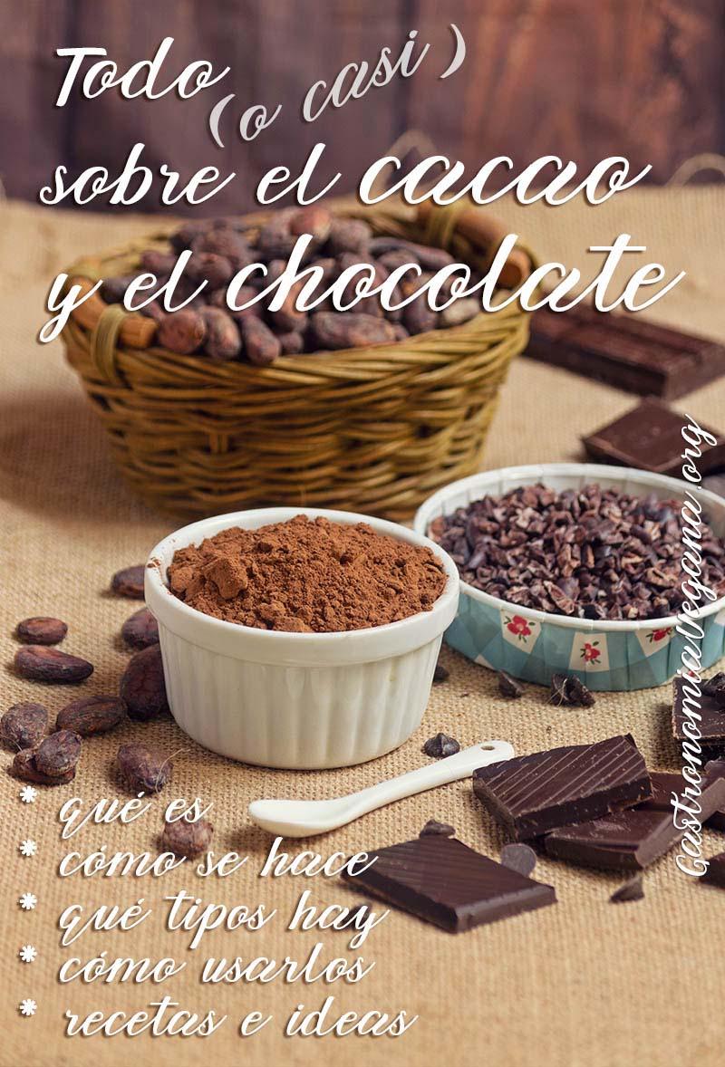 Tutorial: todo sobre el cacao y el chocolate - GastronomiaVegana.org