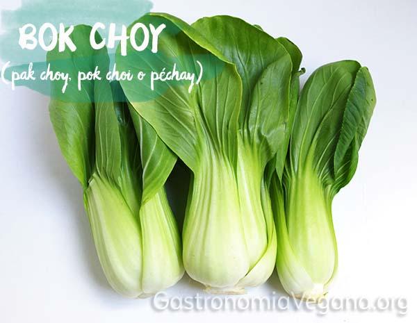 Bok Choy - Verduras que se pueden comer crudas - GastronomiaVegana.org