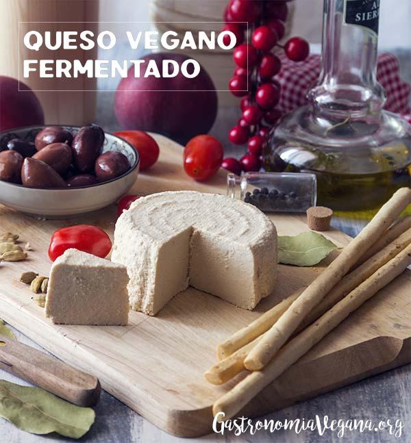 Queso vegano fermentado - GastronomiaVegana.org