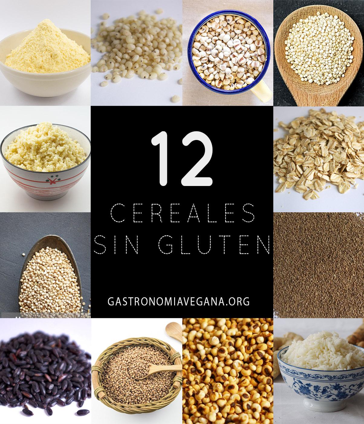 12 cereales sin gluten - tipos, recetas, tips, etc.