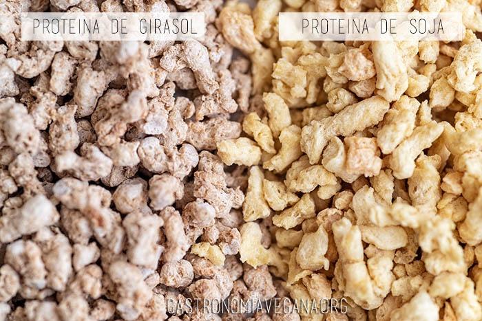 Proteína de girasol vs proteína de soja