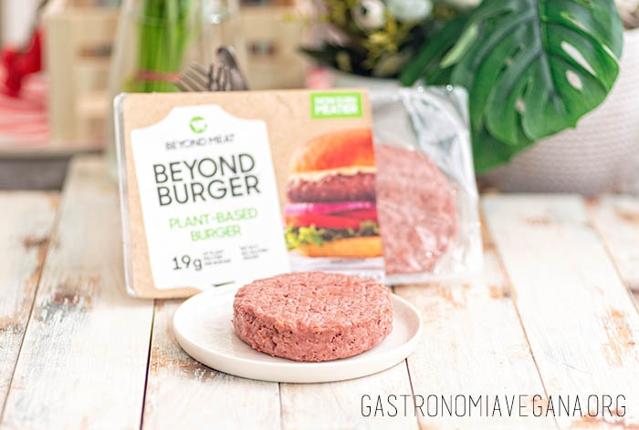 Beyond burger - GastronomiaVegana.org